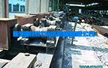 billet steel preprocessing roller conveyor